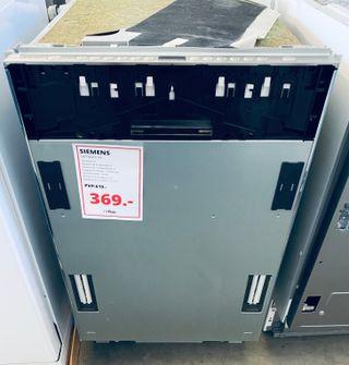 Lavavajillas Siemens 45 Cm Integración A++