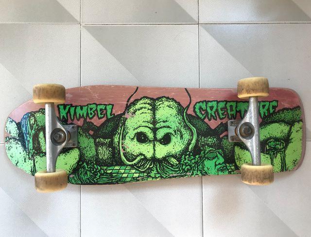 Skateboard longboard cruiser old school completo