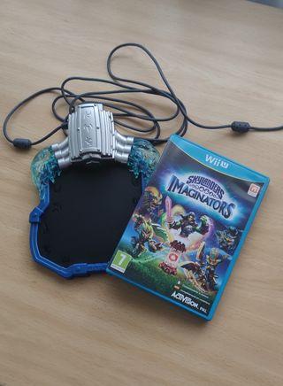 Portal y juego skylanders Wii U