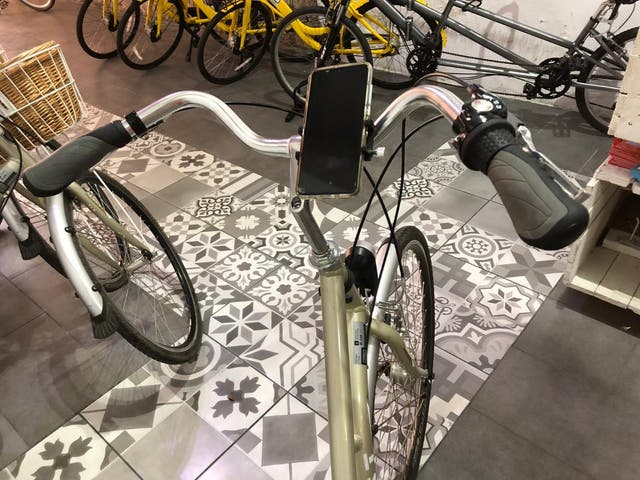 Soporte teléfono móvil bici moto patinete