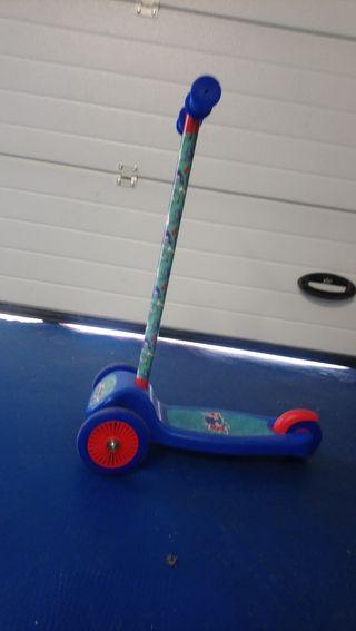 Patinete de 3 ruedas para niños pequeños