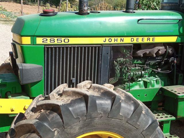 Tractor John Deere 2850 De Segunda Mano Por 14 000 En Lugo En Wallapop