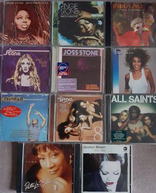 CD Soul Pop R&B Rap lote 5