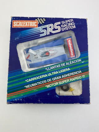 Caja SRS Can-Am Valvoline Scalextric Exin