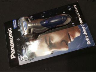 Afeitadora Panasonic seco y húmedo nueva