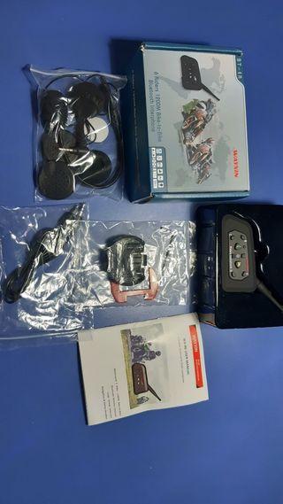 Bluetooth casco intercom