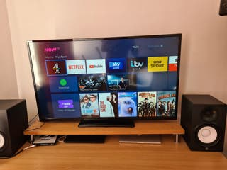 Digihome 50in, with Now TV stick (smart TV)