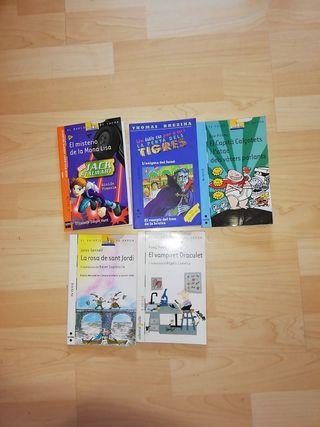 5 llibres de lectura a partir de 7-9 anys.