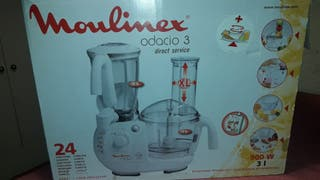 Moulinex fp721 Robot Odacio 3 + licuadora Service