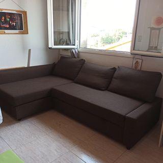 sofá cama chaise longe Ikea