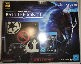 PS4 Pro 1Tb Edic. Limitada Star Wars Battlefront 2
