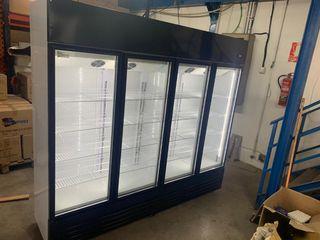 armario mantenimiento 4 puertas de cristal