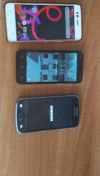 Samsung bq m5 y alcatel