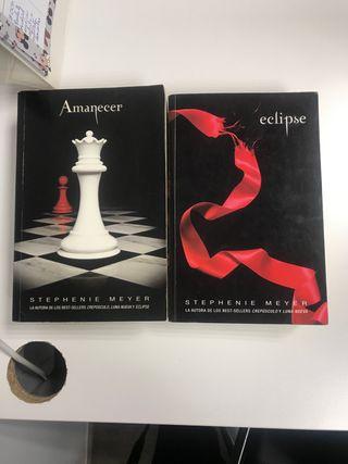 Amanecer y eclipse