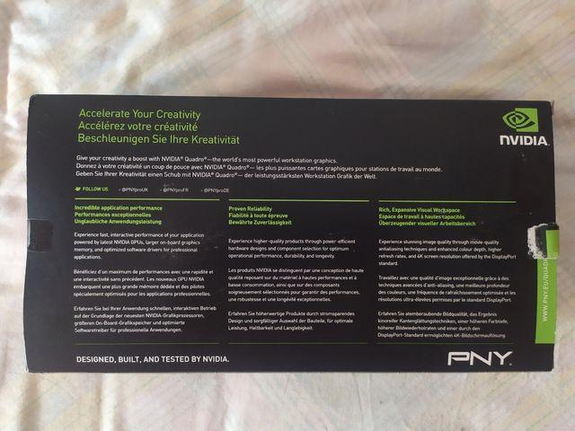 Tarjeta Gráfica PNY NVidia Quadro M4000 8Gb DDR5