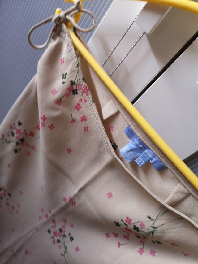conjunto blusa + falda midi
