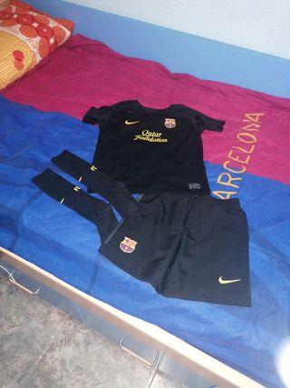 traje completo fc Barcelona