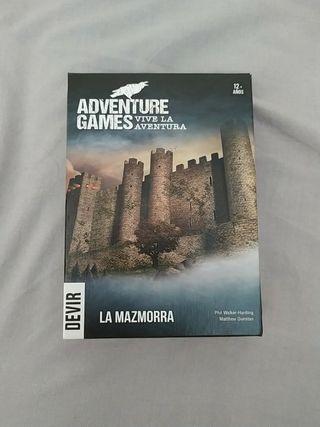 Adventure game. La mazmorra