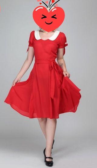 vestido PinUp Vintage talla10UK
