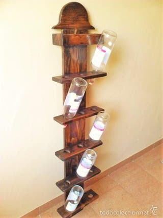 botellero artesanal macizo