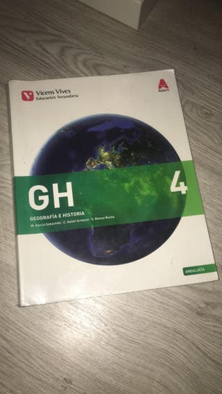 Libro Geografia e Historia 4Eso