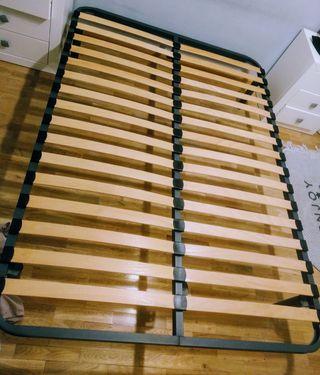 canapé láminas de madera 1'35 cm
