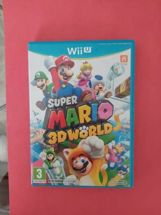 juego wii u super mario 3d world