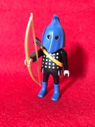 playmobil 3899 arquero capucha azul