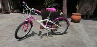 "bicicleta mistigirl 20"" Decathlon"