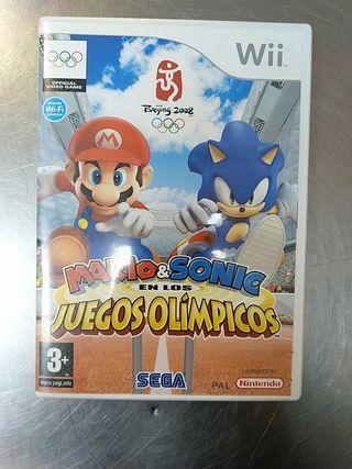 Mario & Sonic En Los Juegos Olímpicos, Wii