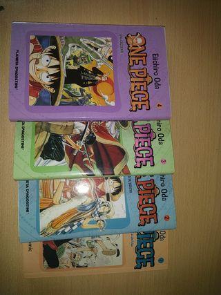 Mangas de One piece 1-4