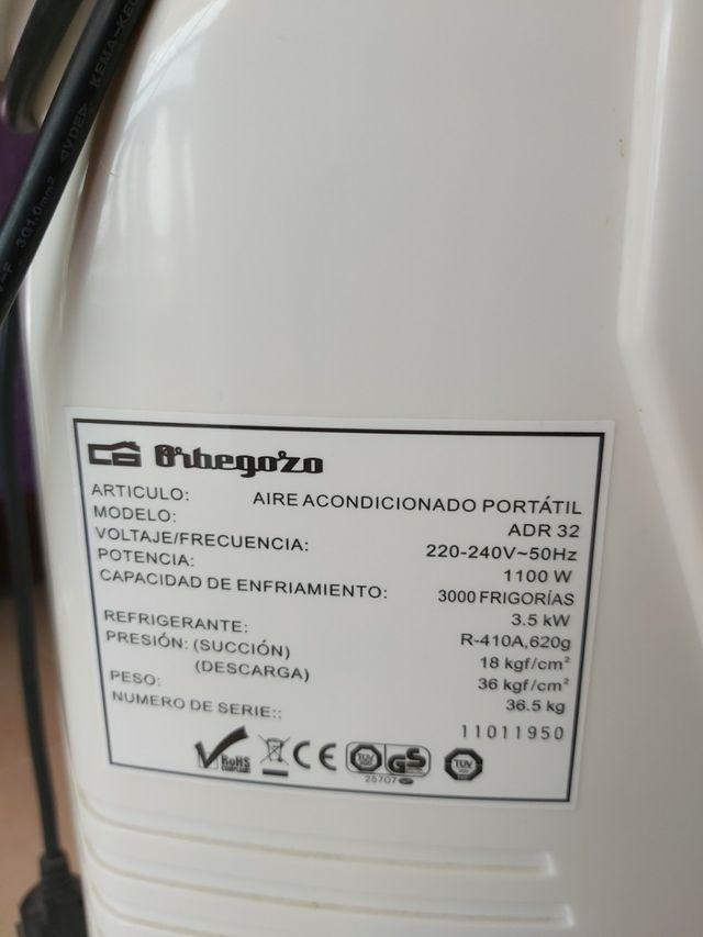 Aire acondicionado Orbegozo 3000 frig