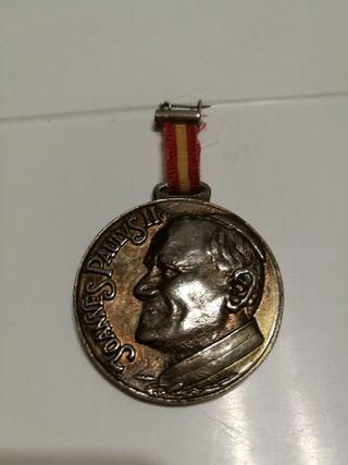 Medalla peregrinación militar