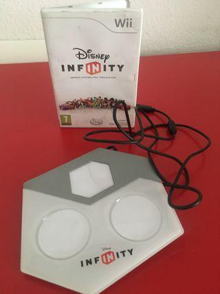 Figuras+juego Disney infinity wii