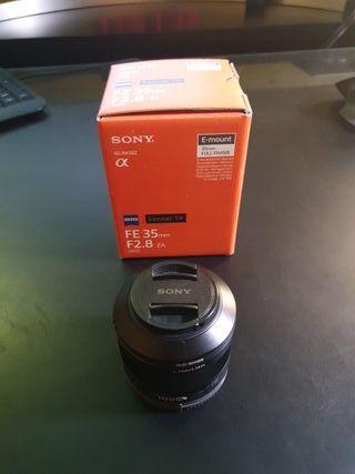 Sony SEL35F28Z Objetivo 35mm FULL FRAME