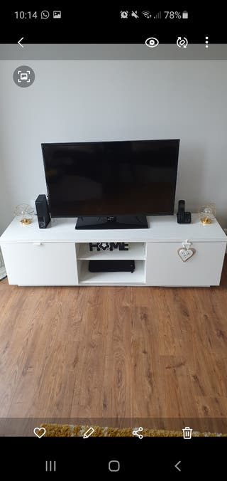 Ikea TV White Bench