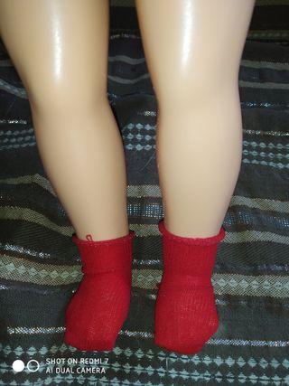 calcetines muñeca Nancy