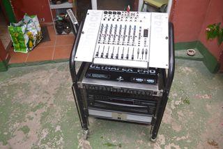 Componente profesional con radio +mesa +amplificad