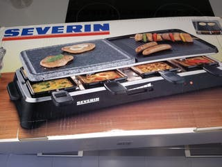 SEVERIN Raclette Partygrill Piedra Natural y Planc
