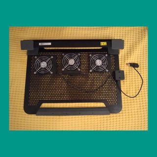 Base ventilador para portátil de hasta 17''