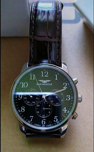 Reloj correa de cuero