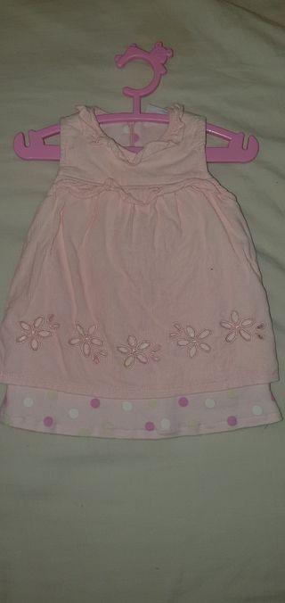 lote ropa bebe 2 vestidos
