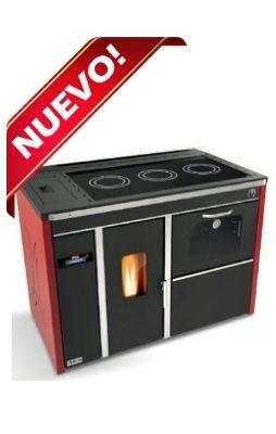 DESCRIPCION - Una estufa de LEÑA elegante y Energ