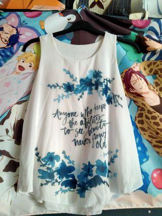 Camisa Tirante Ancho.