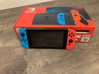 Nintendo Switch edición 2019 y mando pro