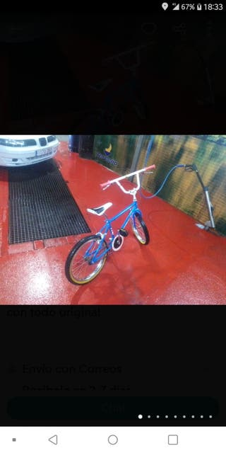 se vende bicicleta nueva con un día de uso