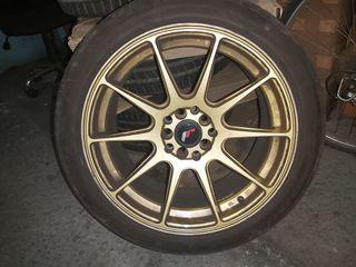 Japan Racing R11 doradas
