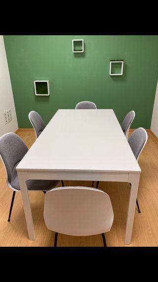 Mesa extensible Ekedalen (Ikea)