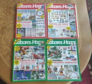 12 revistas LABORES DEL HOGAR
