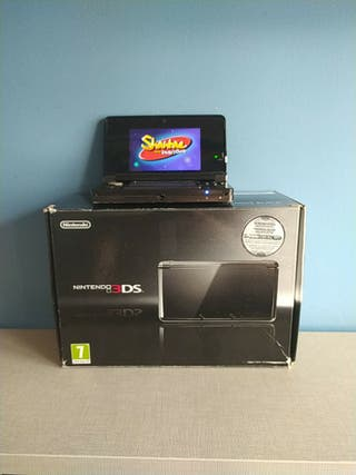 Nintendo 3ds con caja